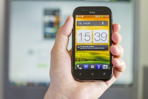 Smartphone med Android